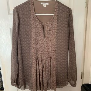 Gorgeous peasant top! Coldwater Creek Sz S